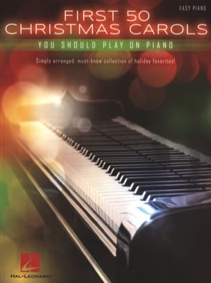 Noël - First 50 Christmas Carols You Should Play On The Piano - Partition - di-arezzo.com