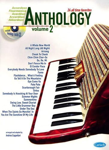 Anthology Volume 2 - Partition - Accordéon - laflutedepan.com