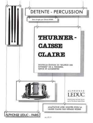 Caisse Claire. Adaptation avec Doigtés Thurner / Spiers laflutedepan