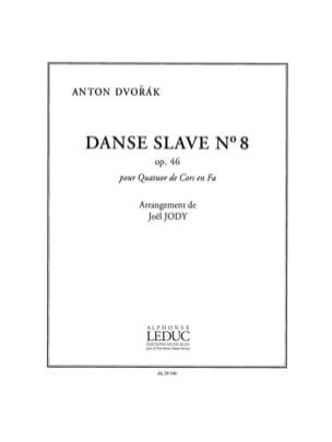 Danse Slave N° 8 Opus 46 DVORAK Partition Cor - laflutedepan