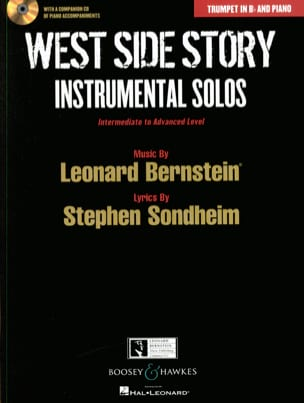 West side story - Instrumental solos BERNSTEIN Partition laflutedepan