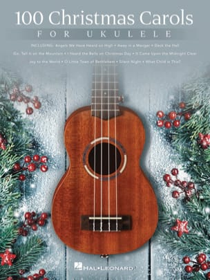 100 Christmas Carols for Ukulele Noël Partition laflutedepan