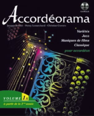 Accordéorama Volume 1 A - Partition - Accordéon - laflutedepan.com