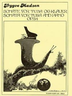 Sonata for tuba Opus 34 Trygve Madsen Partition Tuba - laflutedepan