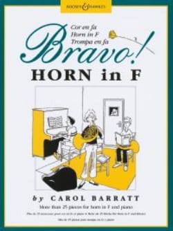 Bravo Carol Barratt Partition Cor - laflutedepan