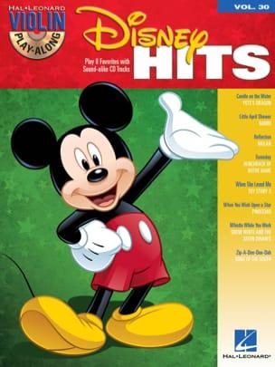 Violin play-along volume 30 - Disney hits Partition laflutedepan