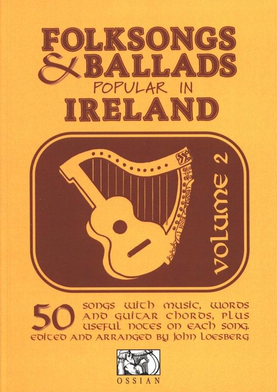 Folksongs And Ballads Ireland Vol 2 - Partition - laflutedepan.com