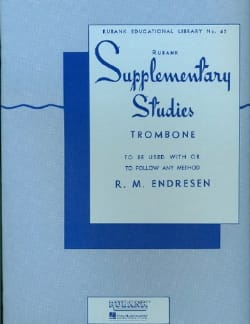 Supplementary Studies R.M. Endresen Partition Trombone - laflutedepan