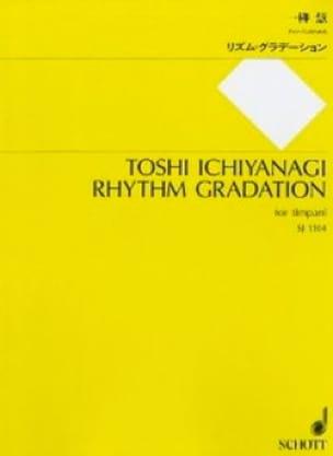 Rhythm Gradation - Toshi Ichiyanagi - Partition - laflutedepan.com