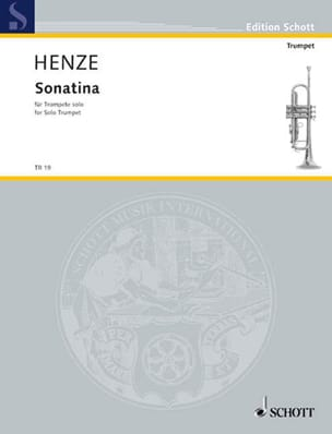 Hans Werner Henze - Sonatina - Partition - di-arezzo.es