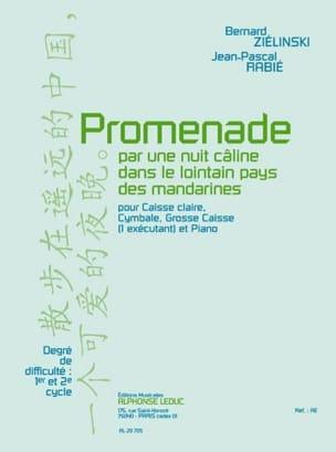 Promenade Ziélinski Bernard / Rabié Jean-Pascal Partition laflutedepan