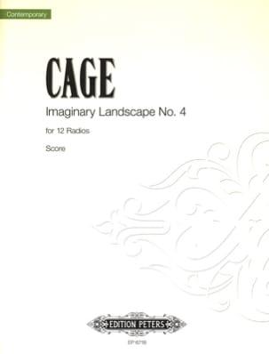 Imaginary Landscape N° 4 - Score CAGE Partition laflutedepan