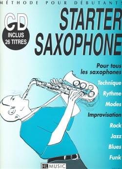 Starter Saxophone Frédéric Truet Partition Saxophone - laflutedepan