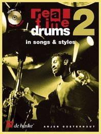 Real Time Drums 2 - In Songs & Styles Arjen Oosterhout laflutedepan