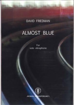 Almost Blues - David Friedman - Partition - laflutedepan.com