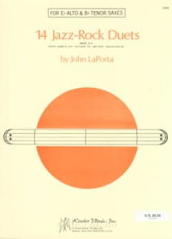 14 Jazz-Rock Duets John Laporta Partition Saxophone - laflutedepan