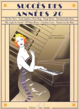 Succès des années 20 - Partition - Jazz - laflutedepan.com