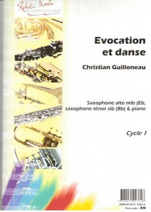 Evocation Et Danse Christian Guillonneau Partition laflutedepan