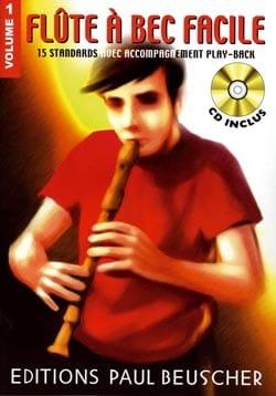 Flûte A Bec Facile Volume 1 Jean Didier Villetorte laflutedepan