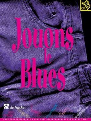 Jouons le Blues Jaap Kastelein Partition Saxophone - laflutedepan