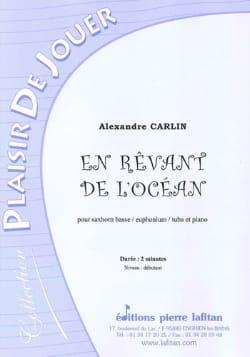 En rêvant de l'ocean Alexandre Carlin Partition Tuba - laflutedepan
