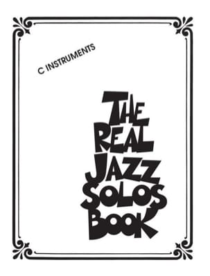 The Real Jazz Solos Book - C Instruments Partition laflutedepan