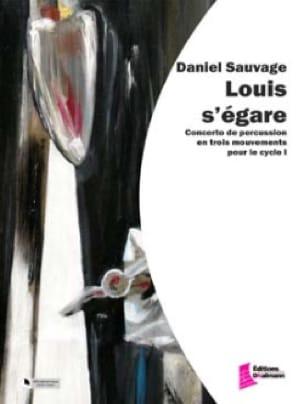 Louis s'égare - Daniel Sauvage - Partition - laflutedepan.com