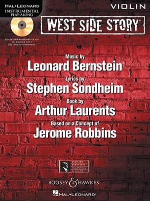 West side story - Instrumental play-along BERNSTEIN laflutedepan