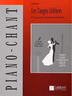 Les Tangos Célèbres Partition Musique du monde - laflutedepan