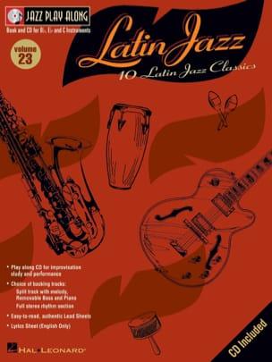 Jazz play-along volume 23 - Latin Jazz Partition Jazz - laflutedepan