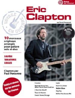 Voyage en Guitare Eric Clapton Eric Clapton Partition laflutedepan