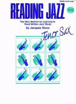 Reading Jazz Jacques Rizzo Partition Saxophone - laflutedepan