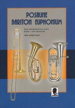 Posaune - Bariton - Euphonium Band 1 Für Anfänger laflutedepan