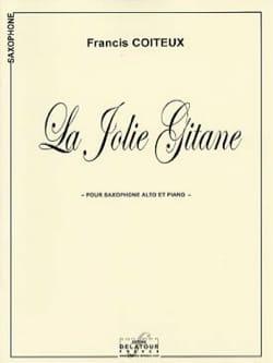 La Jolie Gitane Francis Coiteux Partition Saxophone - laflutedepan