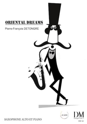 Oriental Dreams Pierre-François Detongre Partition laflutedepan