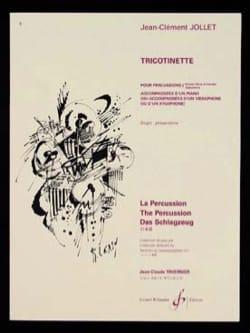 Tricotinette Jean-Clément Jollet Partition laflutedepan