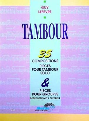 Tambour - 35 Compositions Guy Lefèvre Partition laflutedepan
