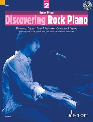 Jürgen Moser - Discovering Rock Piano Volume 2 - Partition - di-arezzo.com
