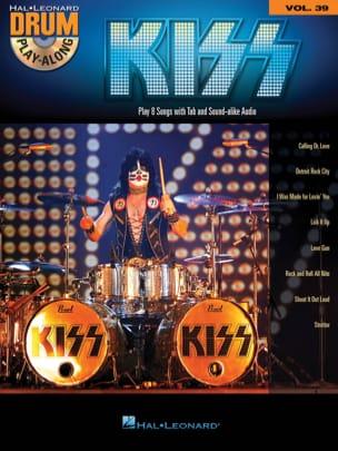Drum Play-Along Volume 39 - Kiss - Kiss - Partition - laflutedepan.com