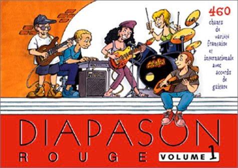Diapason Rouge - Volume 1 - Partition - laflutedepan.com