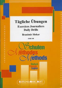 Exercices journaliers - Branimir Slokar - Partition - laflutedepan.com