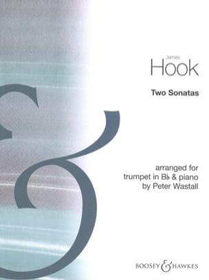 Two Sonatas James Hook Partition Trompette - laflutedepan
