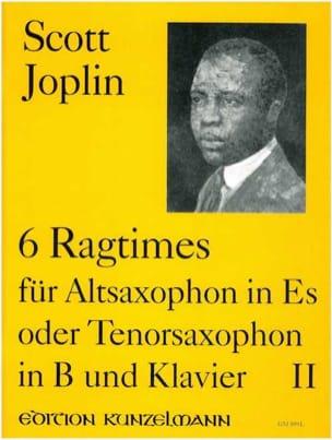 6 Ragtimes Volume 2 - JOPLIN - Partition - laflutedepan.com