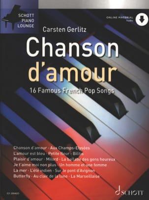 Chanson d'amour Partition Chanson française - laflutedepan