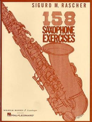 158 Saxophone exercises Sigurd M. Rascher Partition laflutedepan