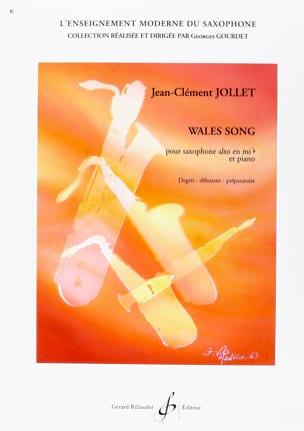 Wales song Jean-Clément Jollet Partition Saxophone - laflutedepan