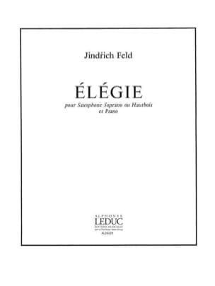 Elégie Jindrich Feld Partition Saxophone - laflutedepan