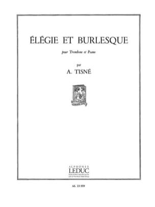 Elégie Et Burlesque Opus 32 N° 1 - Antoine Tisné - laflutedepan.com