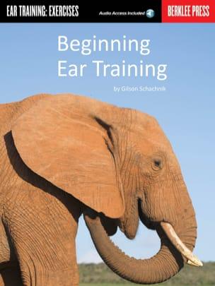 Beginning Ear Training Gilson Schachnik Partition laflutedepan
