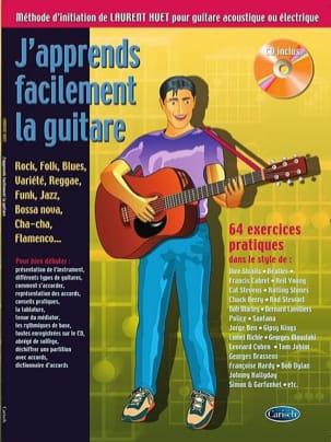 Laurent Huet - I learn guitar easily - 64 Practical exercises - Partition - di-arezzo.com